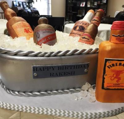 Favorite Libations Cake